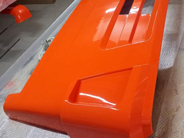 Панель облицовочная откидная интегральная 63501-50, рестайлинг, цвет грунт